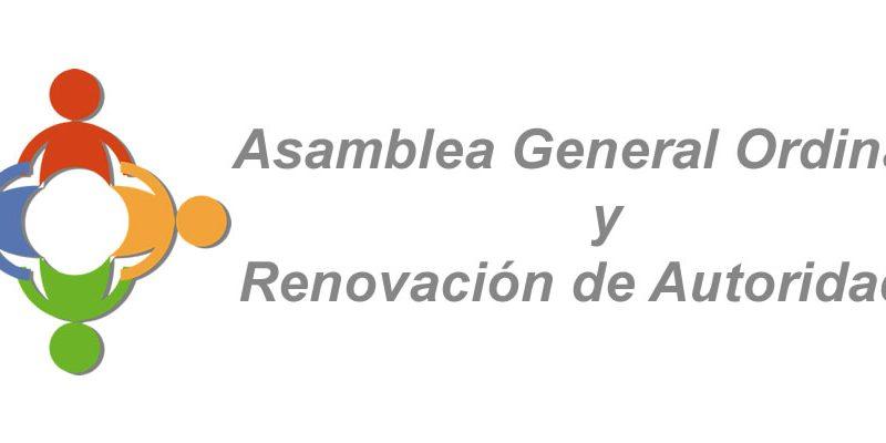 Asamblea General Ordinaria y Renovación de Autoridades